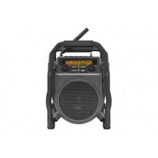 UBOX 400R ANTRACIET DAB+ - FM RDS - BLUETOOTH - AUX-IN - OPLAADBAAR (I