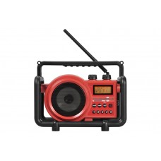 TOUGHBOX 2 ROOD FM RDS - AM - AUX-IN - OPLAADBAAR (INCL. BATTERIJEN)