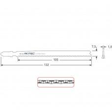 DECOUPEERZAGEN DC540 / T321BF(VPE 5 STUKS)