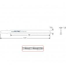 DECOUPEERZAGEN DC840 / T127DF(VPE 5 STUKS)
