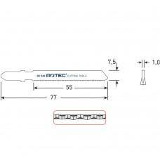 DECOUPEERZAGEN DC520 /(VPE 5 STUKS)