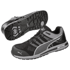 PUMA ELEVATE KNIT BLACK LOW S1P ESD HRO SRC SCHWARZ/GRAU,43