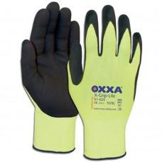 OXXA X-GRIP-LITE GEEL/ZWART, 10