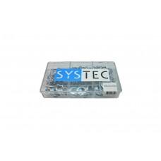 SYSTEC ASS.DOOS 9-VAKS SLUITRING VZ DIN125A