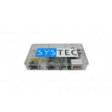 SYSTEC ASS.DOOS 9-VAKS ASBORGRING BLANK DIN6799