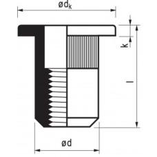 MFX MASTERGRIP ST M8 CK KLEMB. 0.5-3.0