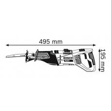RECIPROZAAGMACHINE GSA 1100 E (ZAAGBLAD HOUT S 2345 X EN ZAAGBLAD META