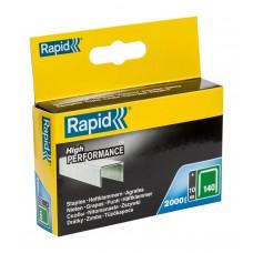 RAPID NIETEN 140/8 MM GEGALVANISEERD 2.000 ST., BOX
