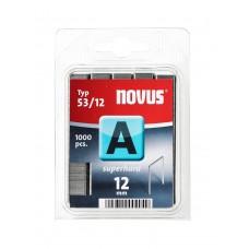 NOVUS DUNDRAAD NIETEN A 53 12MM SH DOOS 1000 ST