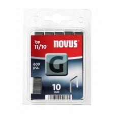 NOVUS VLAKDRAAD NIETEN G 11 10MM DOOS 600 ST