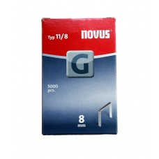 NOVUS VLAKDRAAD NIETEN G 11/8MM, 5000 ST.