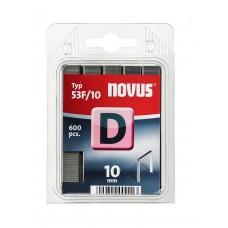 NOVUS VLAKDRAAD NIETEN D 53F 10MM DOOS 600 ST