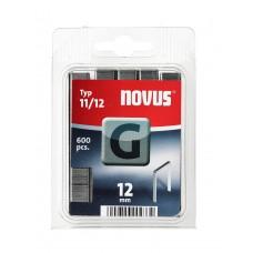 NOVUS VLAKDRAAD NIETEN G 11 12MM DOOS 600 ST