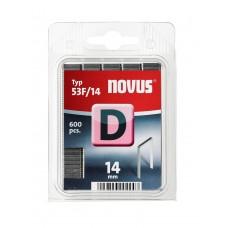NOVUS VLAKDRAAD NIETEN D 53F 14MM DOOS 600 ST