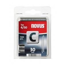 NOVUS SMALRUG NIETEN C 4 30 DOOS 1100 ST