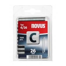 NOVUS SMALRUG NIETEN C 4 26 DOOS 1100 ST