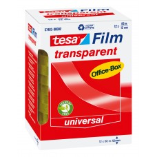 57403 TESA FILM 12 TRANSPARANT 66M:12 MM