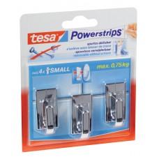57540 TESA POWERSTRIPS SMALL CLASSIC CHROOM