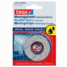 55732 TESA® POWERBOND MONTAGETAPE SPIEGELS 1,5M:19MM