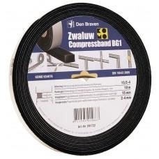 ZWALUW COMPRESSBAND 10/2 10X10 MM 12,5M/ROL