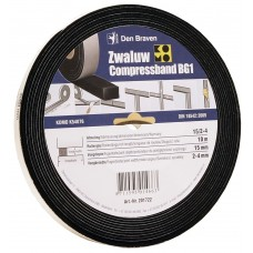 ZWALUW COMPRESSBAND 15/3 15X15 MM 10M/ROL