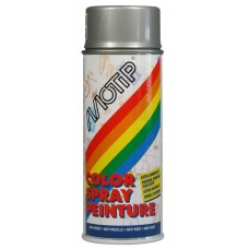 DECO LINE COLORS COLOURSPRAY RAL 9006 WIT ALUMINIUM METALLIC 400 ML