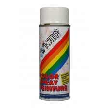 DECO LINE COLORS COLOURSPRAY HOOGGLANS RAL 9016 VERKEERS WIT 400 ML