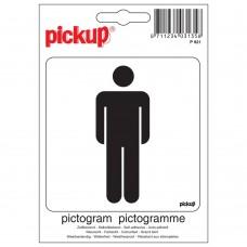 PICTOGRAM 10X10CM HEREN