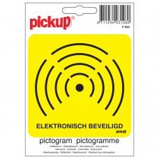 PICTOGRAM 10X10CM ELEKTRONISCH BEVEILIGD