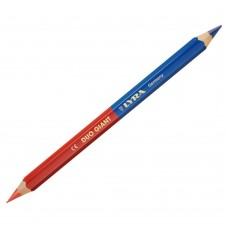 PICA DUO-POTLOOD BLAUW/ROOD L = 175MM MET STIFTDIKTE 6,25MM