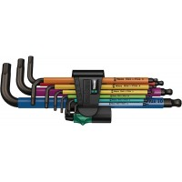 950/9 HEX-PLUS MULTICOLOUR 1 ZB MULTICOLOUR STIFTSLEUTELSET 9-DLG, MET