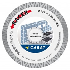CARAT DIAMANTZAAG TEGELS/NAT.STEEN DIAM. 115X22,23 MM, CDB RACER