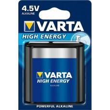 VARTA BATTERIJ ALKALINE HIGH E BLIS 3LR12/ 4,5V